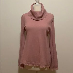 100% Cashmere Bell Sleeve Sweater